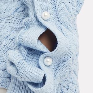 Hellessy Sweaters - ❌ SOLD ❌ HELLESSY Melody Pearl-Embellished Sweater
